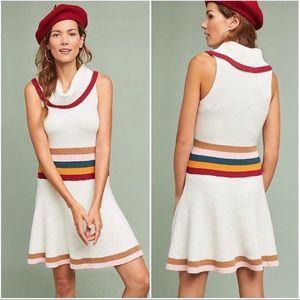 Anthropologie Maeve Sweater Dress M NEW